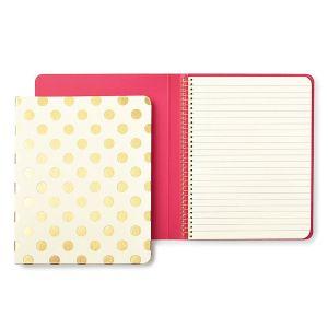 Gold Pavilion Spiral Notebook
