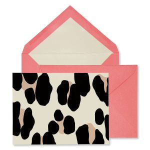 Kate Spade New York Forest Feline Note Card Set