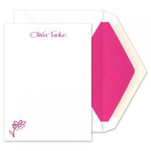 Flower Flat Card