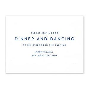 Truly by William Arthur Wedding 2018 129702 129675 Reception Card