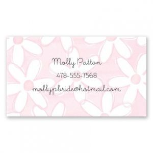 Oopsy Daisy Calling Card