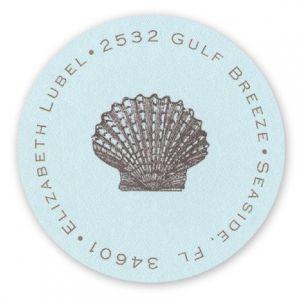 Seashell Label