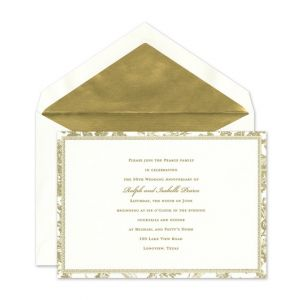 Romantic Toile Invitation