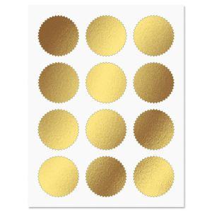 Gold Foil Certificate Seals