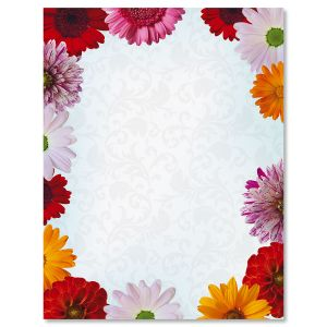 Daisies Letter Papers