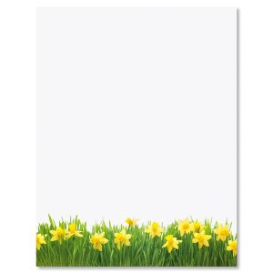 Daffodils Letter Papers