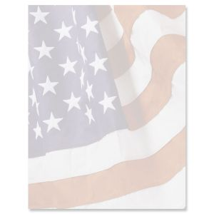 American Flag Letter Papers