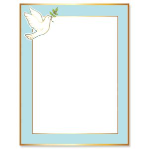 Dove Faith Letter Papers