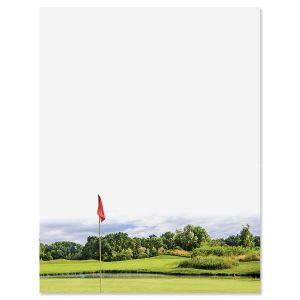 Golf Fairway Letter Papers