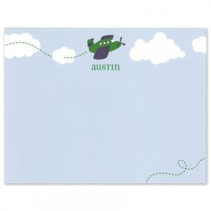 Airplane Flat Card
