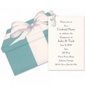 Tiffany Blue Box Invitation