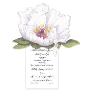 Blossoming Peony Invitation