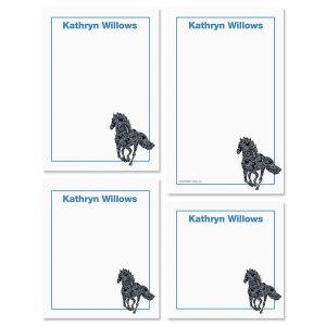 Horse Patterns Notepads
