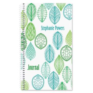 Abstract Leaves Journal
