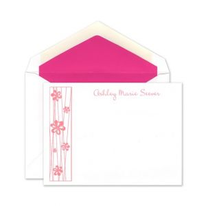 Flowers Flat Card