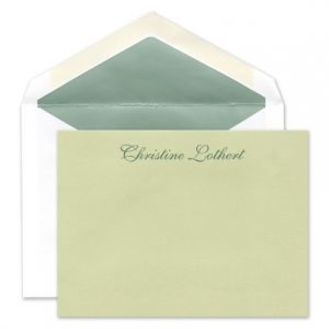 Celery Flat Card