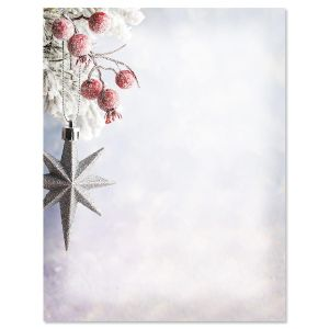 Frosted Berries Letter Papers