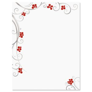 Berries Deluxe Letter Papers