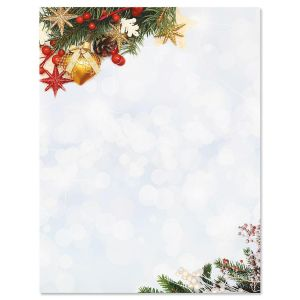 Holiday Sparkle Letter Papers