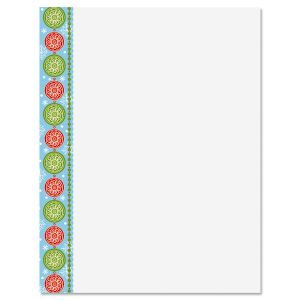 Joyful Letter Papers