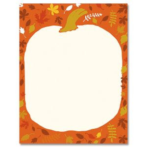 Punkin Head Letter Papers