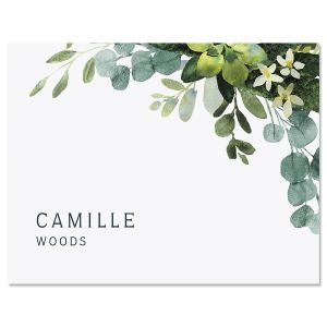Olive Bloom Note Cards
