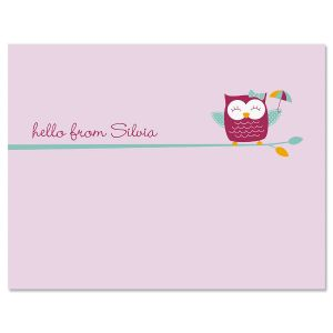 Sweet Owl Note Cards