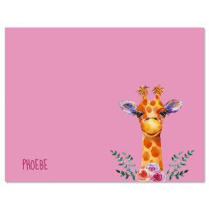 Mini Giraffe Note Cards