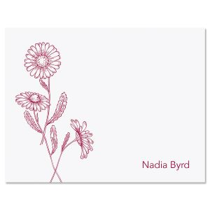 Wild Daisies Note Cards
