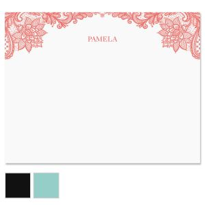 Amelia Lace Note Cards