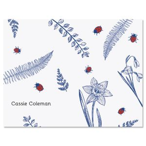 Dainty Ladybug Note Cards