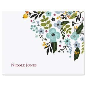 Aubrey Floral Note Cards