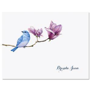 Magnolia Bird Note Cards