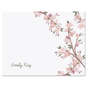 Cherry Blooms Note Cards