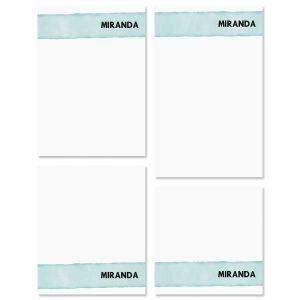 Watercolor Wash Note Pad Sets
