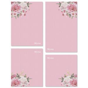 Corner Roses Note Pad Sets