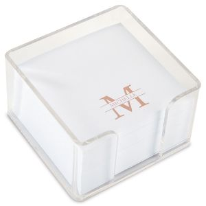 Front & Center Note Sheets in a Cube