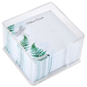 Forest Impressions Note Sheets in a Cube