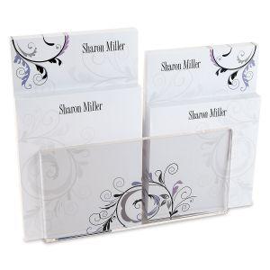 Black & Grey Fantasy Note Pad Set