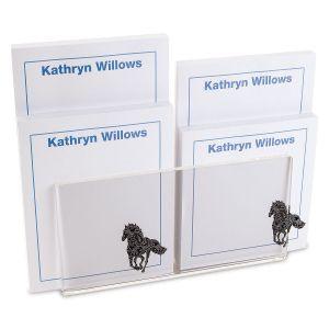 Horse Pattern Note Pad Set