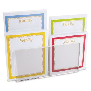 Bright Borders Note Pad Set