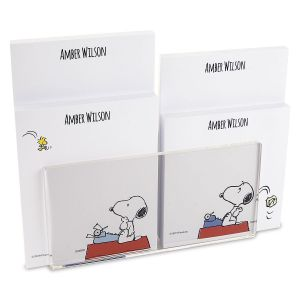 Snoopy's Typewriter Note Pad Set