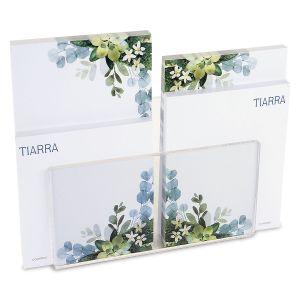 Olive Bloom Note Pad Set