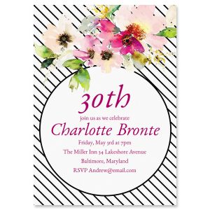 Charmed Milestone Invitations