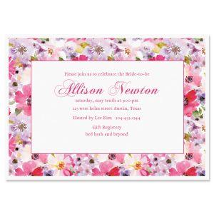 Bountiful Floral Invitations
