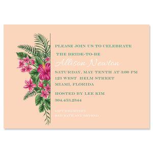 Lavish Tropical Invitations