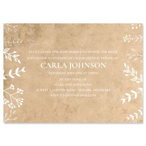 Natural Joy Invitations