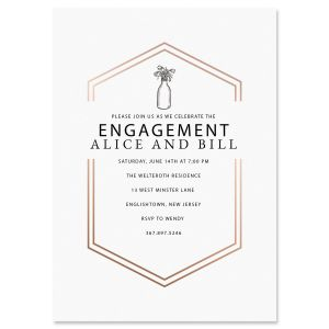 Bliss Engagement Invitations