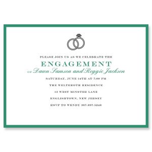 Entwined Ring Invitations