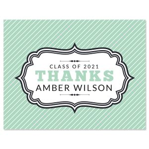 Graduation Thank You Note Cards